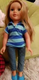 Pretty designer doll