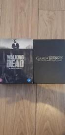 **AMAZING DEAL** walking dead & games of thrones box set. Selling for only £25!