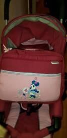 Minnie hauck pushchair stroller buggy