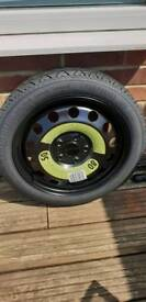 Audi a3 spare wheel