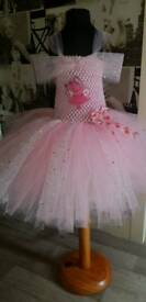 Adjustable straps and lined tutu dress age 1-3 years
