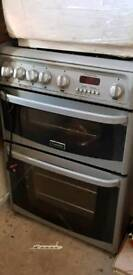 Cannon gas cooker with oven and grill