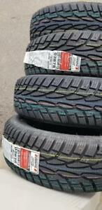 BRAND NEW WITH LABELS HIGH PERFORMANCE UNIROYAL  195 / 65 / 15  WINTER  TIRE SET OF  FOUR.