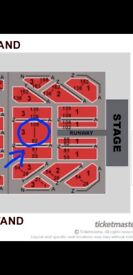 3 michael buble tickets for sale 7th july dublin superb seats