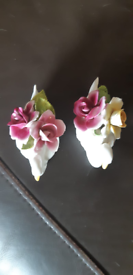 Flower swans