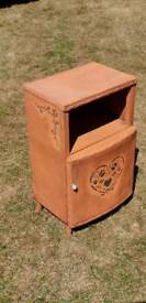 Shabby chic bedside cabinet