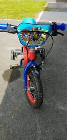Paw Patroland Spiderman Bike for Sale