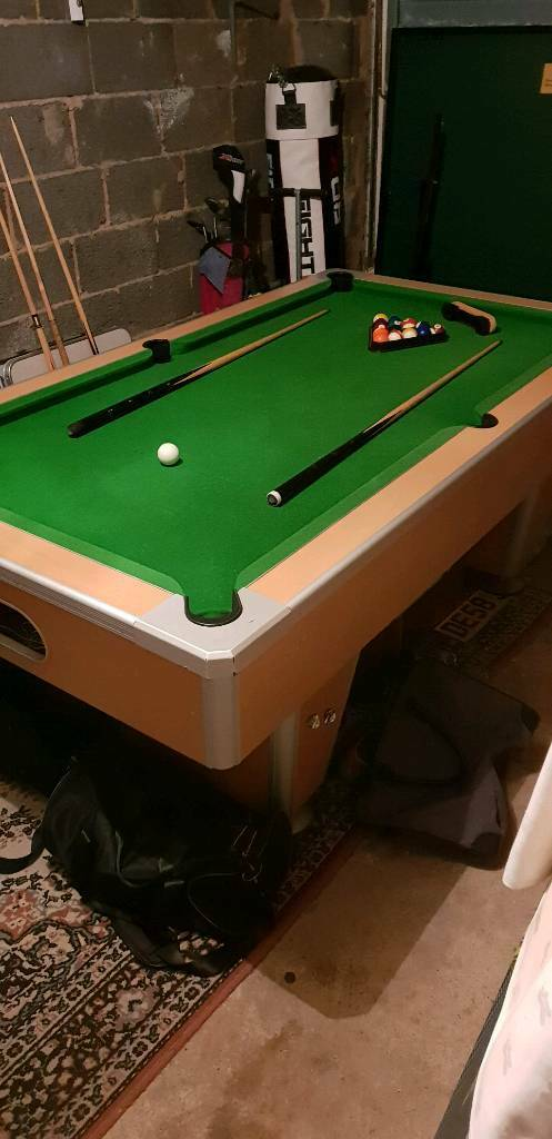Astounding 7Ft Pool Table Slate Bed In Burnley Lancashire Gumtree Home Interior And Landscaping Sapresignezvosmurscom