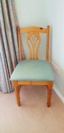 Single dining/desk/bedroom chair