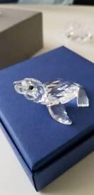 Swarovski crystal sea lion
