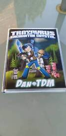 DanTDM Trayaurus and the enchanted crystal hard back.like new