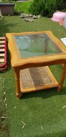 Small 2ft by 2ft coffee table