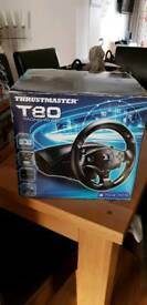 PS3/4 Thrustmaster T80 Racing wheel