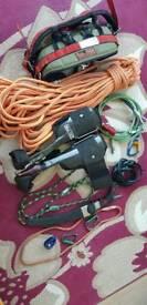 Tree Surgeon climbing gear
