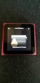 Ipod nano 6th generation - with Iluv speaker