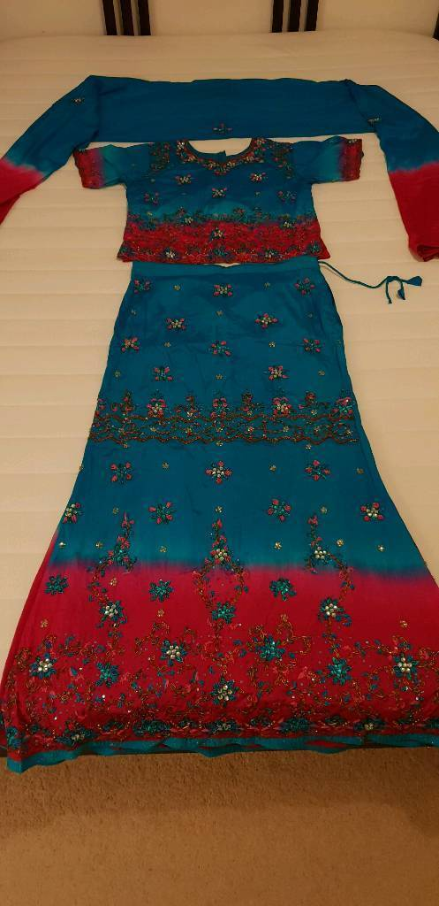 d0b88b9bb6 Beautiful Indian partywear lehenga | in Reading, Berkshire | Gumtree