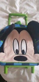 Mickey child's suitcase