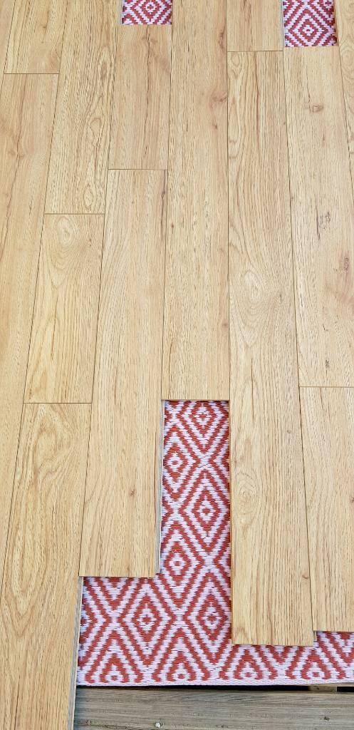 Real Oak Laminate Flooring With Built In Underlay In Kirkcaldy