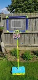 Child's basketball set-portable