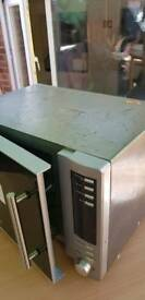Microwave oven with convection and grill