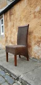 Rattan Wicker Chair Conservatory.