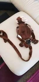 Monkey kids walking bag harness