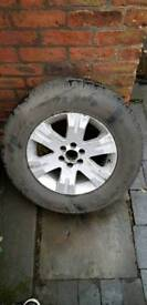 255 65 17R 114H Extra Load 4x4 Tyre & Alloy Wheel