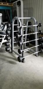 Set de barbell et rack Atlantis