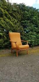 Vintage Lounge Chairs Mid Century Modern