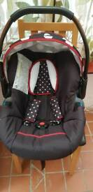 Pushchair set for girl baby