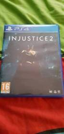 Injustice 2 ps4 verry good condition
