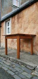 Vintage Oak Table Upcycle Restoration project Deco period