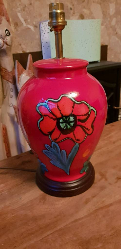 Original poole pottery table lamp in ripley derbyshire gumtree original poole pottery table lamp mozeypictures Images