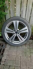 Alloy wheels 112 .