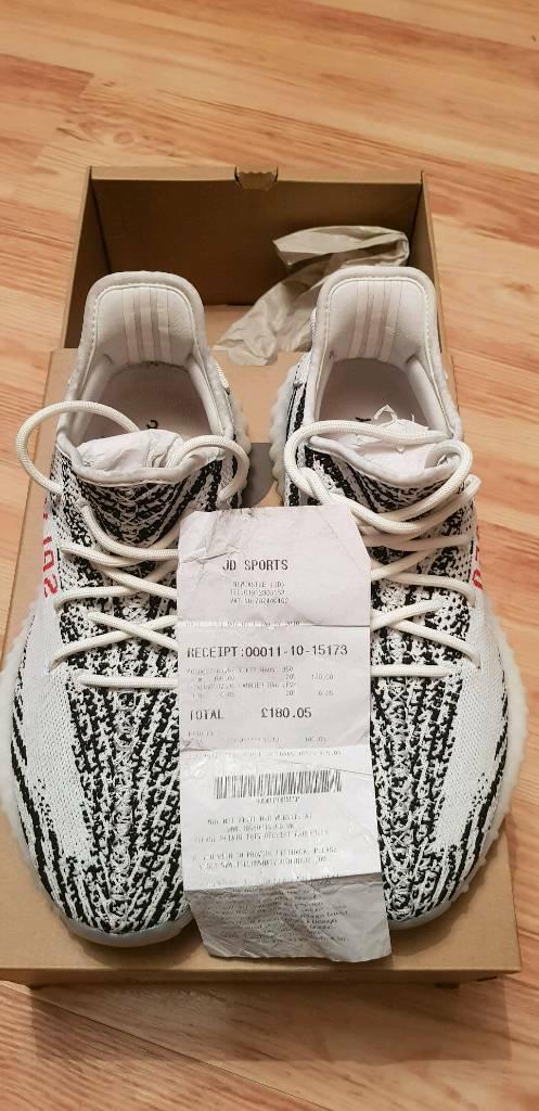 81914a5e51e Adidas yeezy boost 350 v2 zebra size 9 very rare