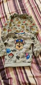 Paw patrol jumpers 3-4 and 4-5