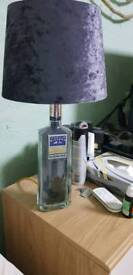 GIN BOTTLE TABLE LAMP