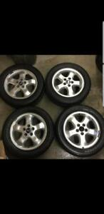 Summer wheels and tires Saab16  SPECIAL!!