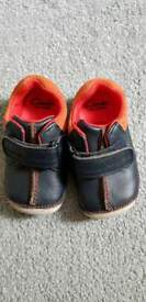 Clarks first shoes, size 4f