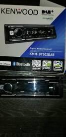 Kenwood KMM-BT502DAB Car Stereo