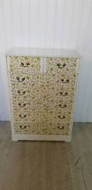 Upcycled 6+2 Chest of Drawers