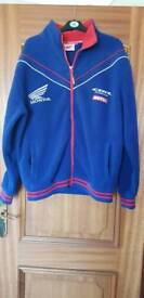 **SOLD** HONDA ZIP UP FLEECE