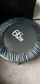 66fit rebounder trampoline