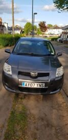 Toyota Auris TR VVT-I S-A 2007 1.6l petrol @07555686309 call or message