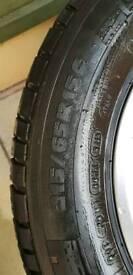 ford custom steel wheels