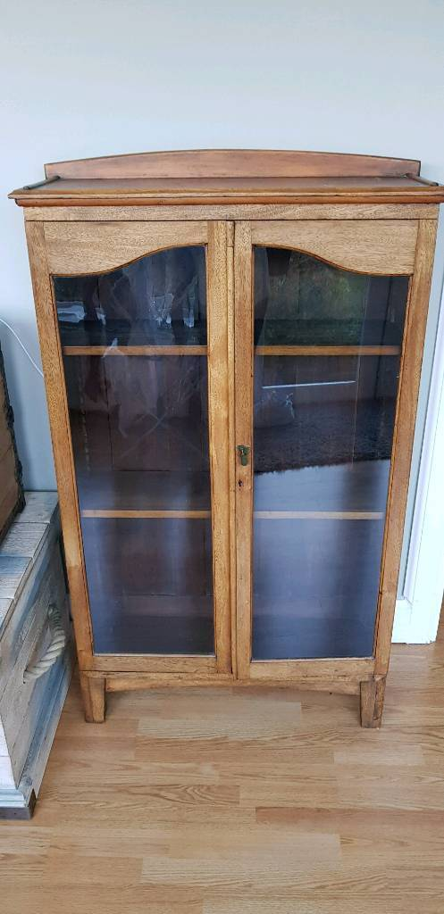 Antique Cabinet With Glass Doors In Tranent East Lothian Gumtree
