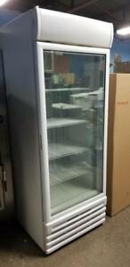 BRAND NEW SINGLE DOOR GLASS FREEZER ( SCRATCH AND DENT )