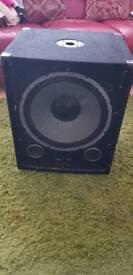 Skytec dj speaker 15inch