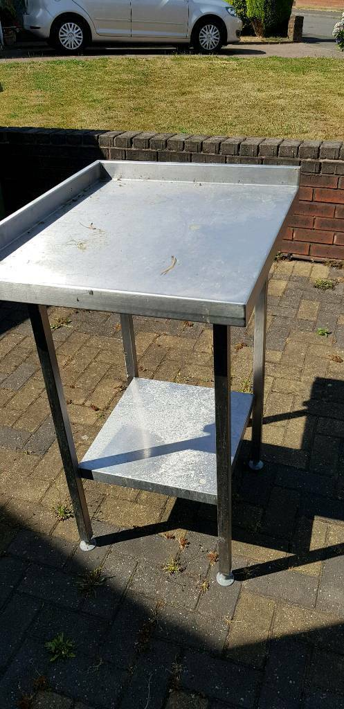 Commercial Sinks And Ft Stainless Table In Wolverhampton West - 10 ft stainless steel table
