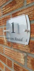 Personalised 3D Address Plaque